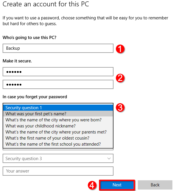 Как удалить свой ПИН-код и другие параметры входа из Windows 10 - скриншот 20